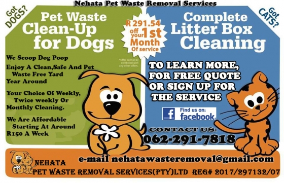 Pet Waste Removal Service