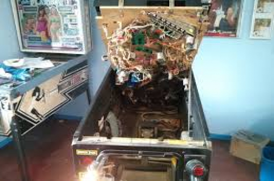 Pinball Machine repairs done on site