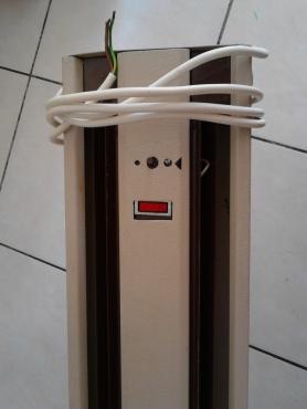 Long wall panel heater