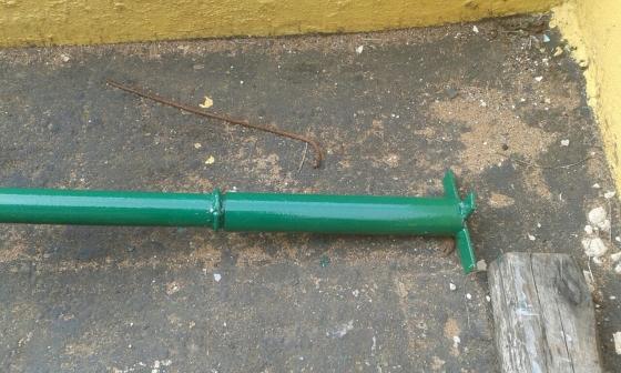 steel junda poles
