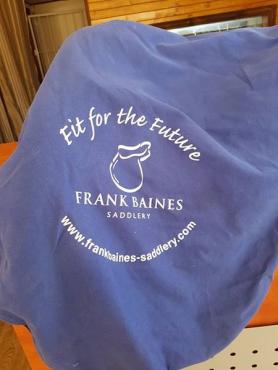 Frank Baines Elegance Dressage saddle for sale.