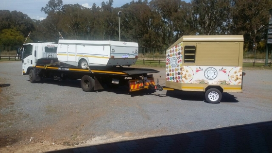 Trailer Transport Cape Town, Mossel Bay, George to Gauteng.