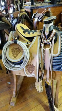 Mexican Charrio saddle. Made from A grade leather custom work