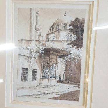 Mosque Scenery
