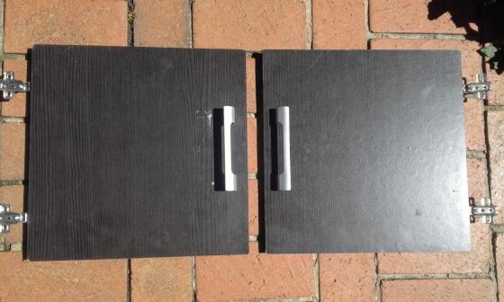 Cupboard Doors. Two sets.