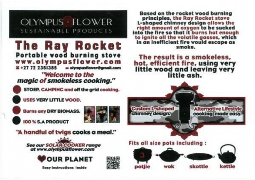 Ray'/s Rocket and Solar stoves / cookers