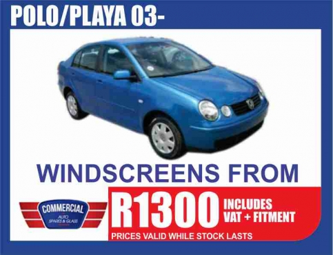 VW Windscreens and a