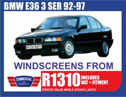 Commercial Auto windscreens and all Auto Glass