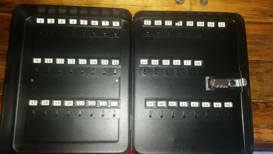 46 Sleutel swart kluis te koop