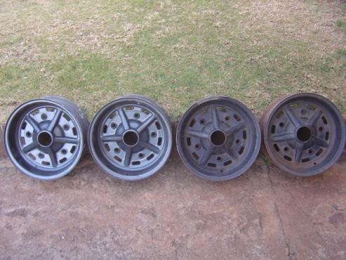 VW Beetle Rostyle wheels+SP s/wheel