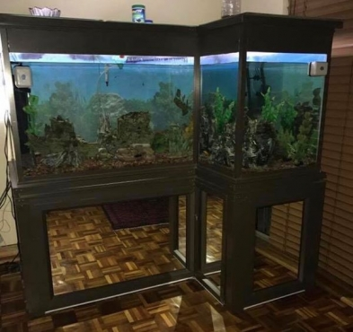 800L Aluminium Fish Tank with Stand