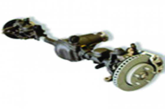 Axle and new and use