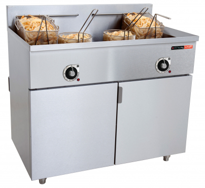 OPEN FRYER 2 x 20Lt BY TURBOQUIP ex WIMPY Like New R12000.00