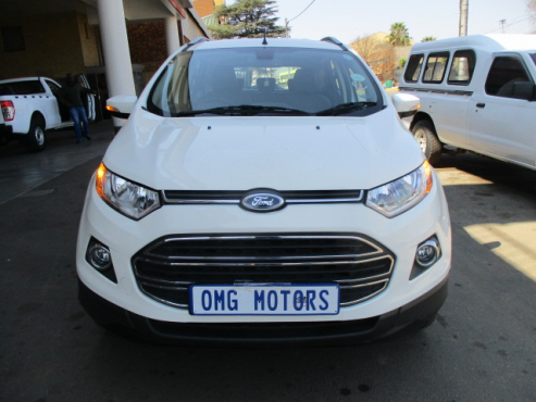 Ford ecosport 1.5tdci titanium, 5-doors, 2014 model