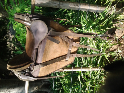 Trident pegasus trail saddles x 2