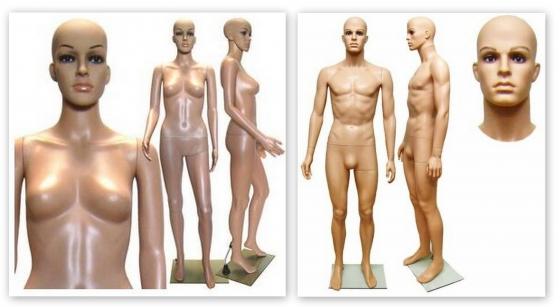 Mannequins, Torsos & Display Heads For Sale