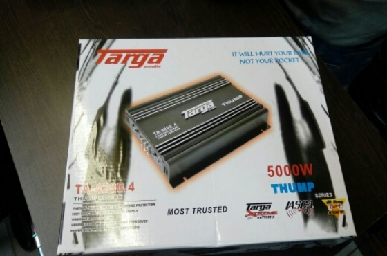 Targa 5000 watt 4 Channel Amp
