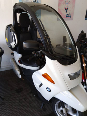 Two Bmw C1 Scooters Up For Sale Junk Mail