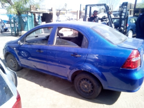 Chevrolet Aveo 2010 Stripping All Interior And Exterior Parts