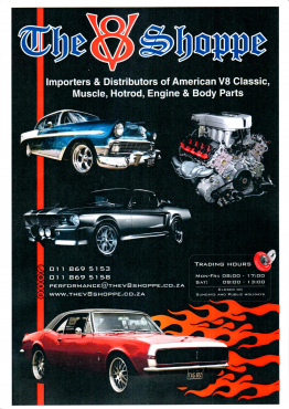 V8 SPARES FOR CHEV, FORD, CHRYSLER AND OTHER AMERICAN MOTORS and BODY PARTS
