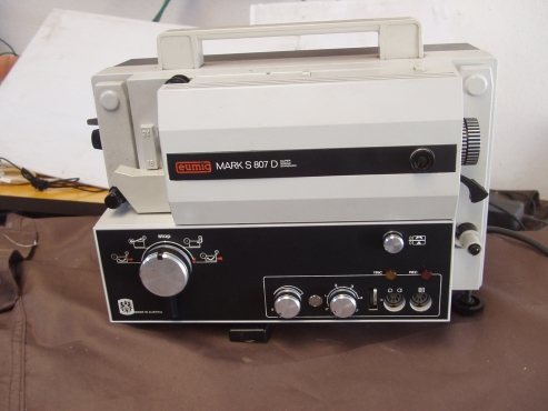 Eumig Mark S 807D Projector - movie projector in excellent condition