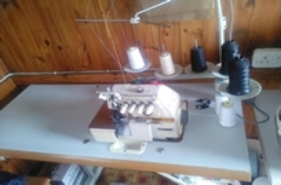 kingstar 5 thread safety overlock sewing machine