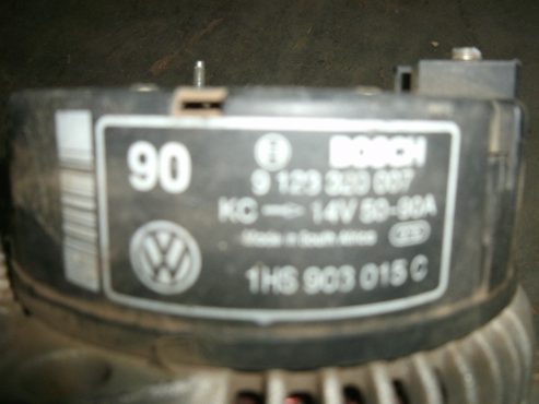 Alternator for VW