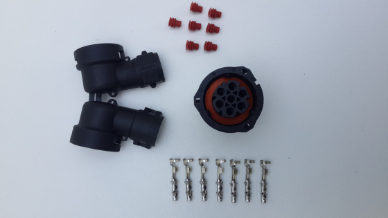 SEVEN PIN PLUG KIT FOR TRUCK TAIL LIGHTS