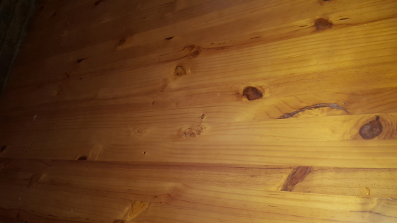Pine oregon stain square diningroom table