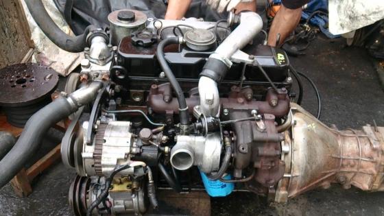 NISSAN 2.7 DIESEL ENGINE TD27