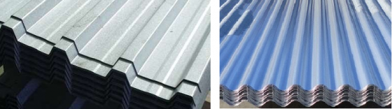IBR GALV ROOF SHEETING NEW 0.5mm