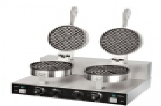BRAND NEW DOUBLE WAFFLE BAKERS, BAKERY EQUIPMENT