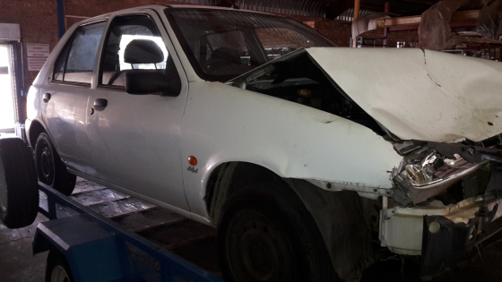 2000 Ford Fiesta 1.4I stripping for spare parts