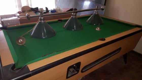 Pool Table + Lights