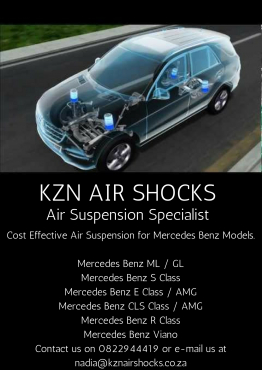 Mercedes Benz Air Suspension