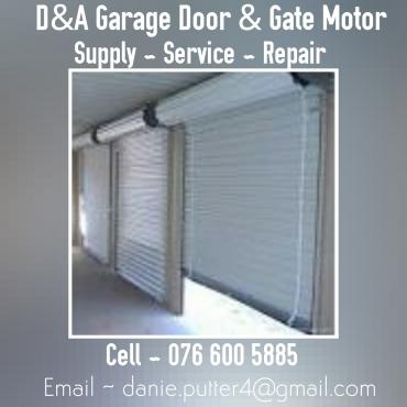 Help with your Garage door and Gate motor