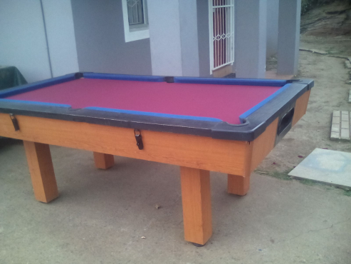Home Pool table with Slate top