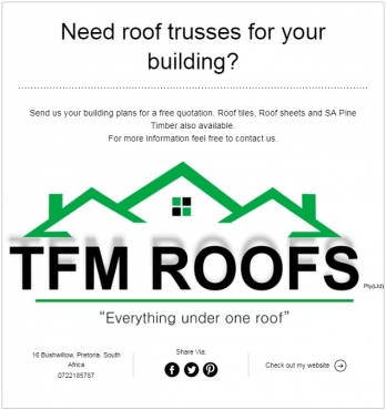Need roof trusses?