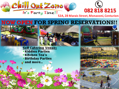 Chill Out Zone Self Catering Venue