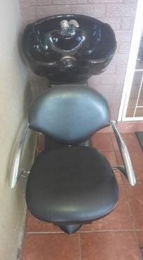 Salon wasbak met stoel