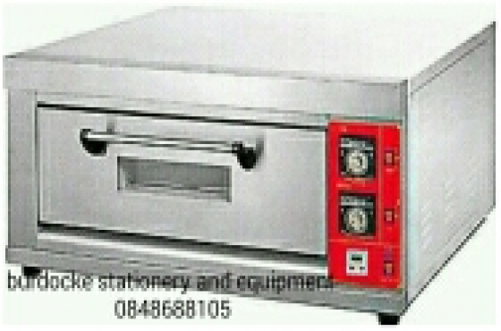 BRAND NEW 1 DECK TRAY ELECTRIC OVENS WITH TRAYS