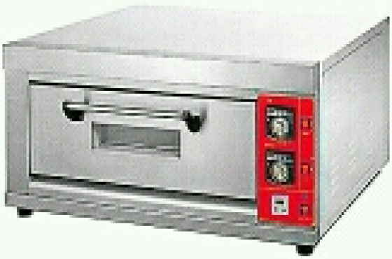 BRAND NEW 1 DECK 3 TRAY ELECTRIC OVENS WITH TRAYS