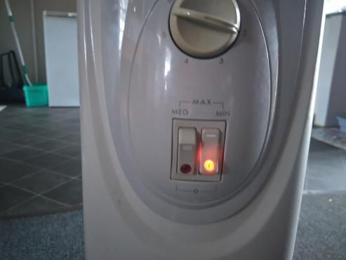Delonghi eco 7 Fin oil heater