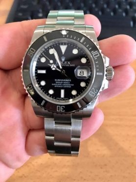 Submariner 116610 LN Super Clone