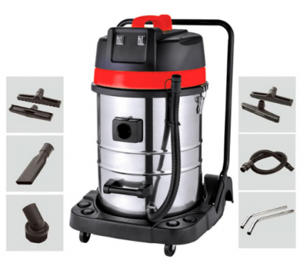 Powerful wet & dry vacuum cleaner 70 L