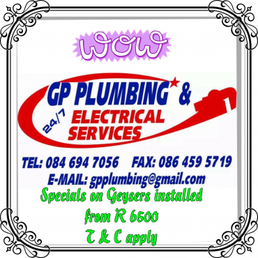 GP PLUMBING & ELECTRICAL SERVICES