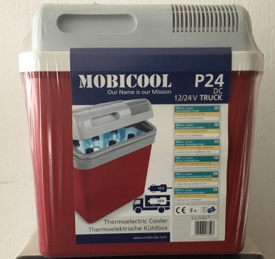MobiCool P24 Thermo-Electric Camping and Travel Cooler