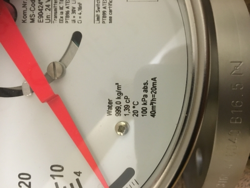 Yokogawa RAMC08 Metal Short-stroke Rotameter - 3 inch (80mm)