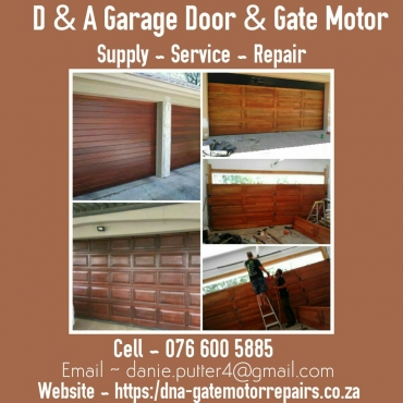 KRUGERSDORP  Garage/Roller door and Gate motor Service & Repairs 0728033802