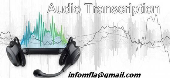 TRANSCRIPTION SERVICES IN ALL LANGUAGES 0829382873